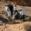 Saudi students participate in Palaeodeserts fieldwork
