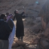 HRH Prince Sultan bin Salman visits rock art team
