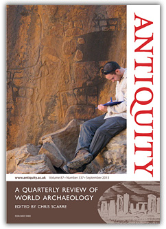 Antiquity front page