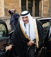 HRH Prince Sultan arrives at the Green Arabia conference