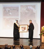 HRH Prince Sultan accepts Whalen archives