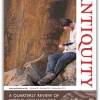 Rock art article featured on front cover of Antiquity journal