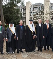 Senior delegates at the Green Arabia conference